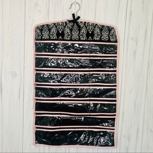 Other - Hanging jewelry organizer in black and white